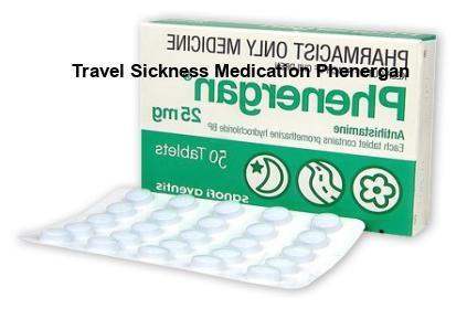 Travel Sickness Medication Phenergan, Travel Sickness